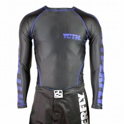 Nightwing Rash Guard LS 1