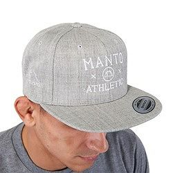 snapback cap ATHLETIC Gray1