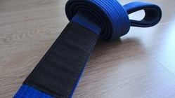 BLACK SAINT blue Belt 2