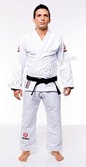 ATAMA 柔術衣 ウルトラライト シングル 白