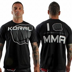 Tee I am MMA BK Grey