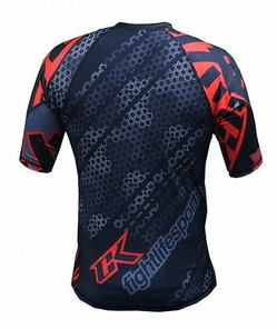 Droid red rashguard 2