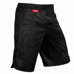 Hexagon Fight Shorts black 2