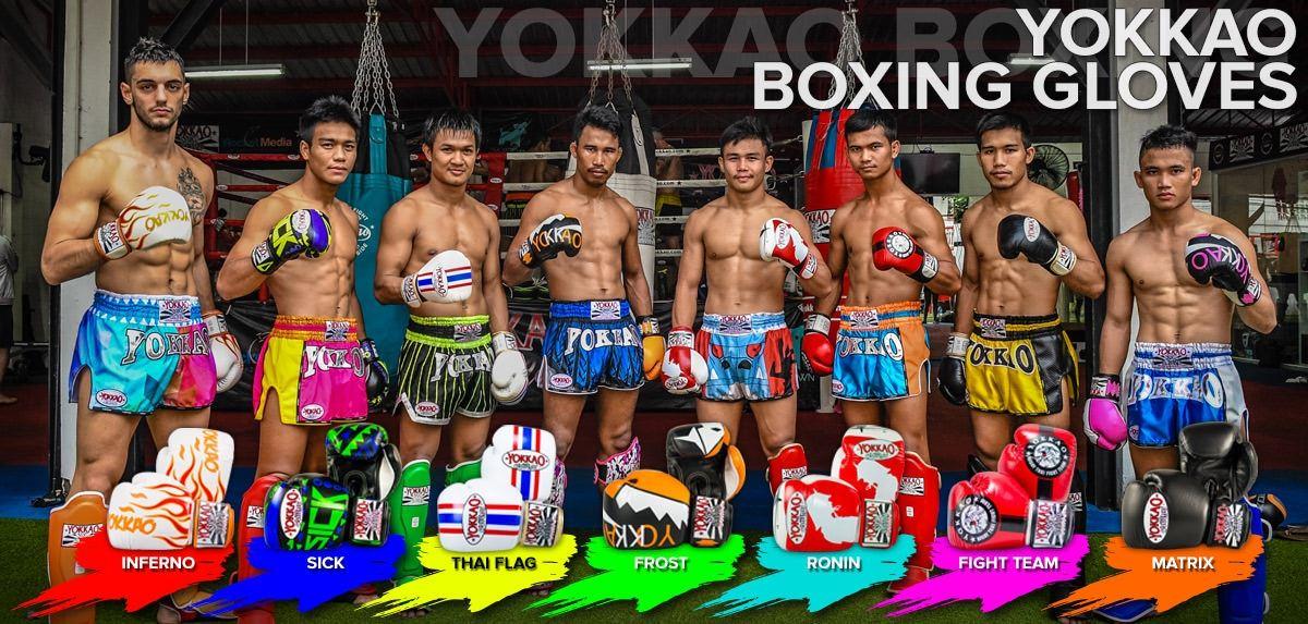 YOKKAO White Carbon Muay Thai Boxing Shorts 2018