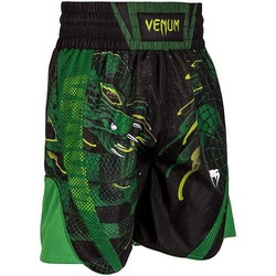 Green Viper Boxing Shorts BlackGreen 1