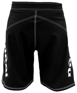 0 Fight Shorts - Black 4