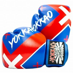 X_Blue Muay Thai Boxing Gloves1