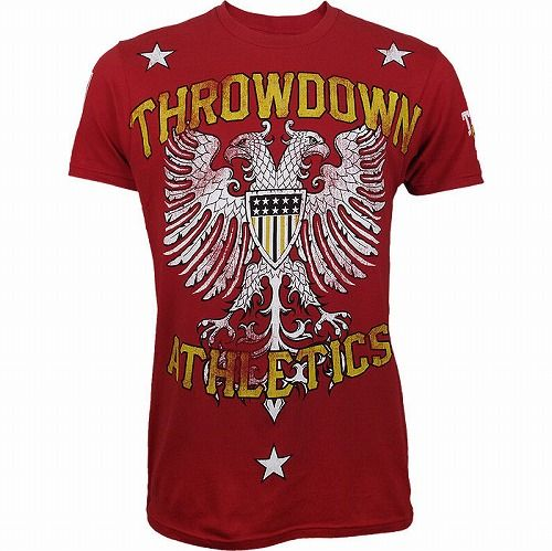 Throwdown Homeland Shirt Red1