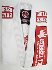 BULLTERRIER 柔術衣 Newライトウェイト シングル 白