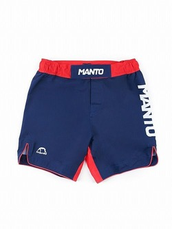 MANTO fight shorts STRIPE navy blue1