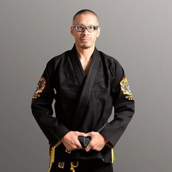 Fire Tiger BJJ Gi black1