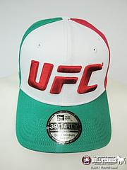 UFC キャップ Mexico 白/緑赤