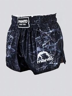 MANTO fightshorts MUAY THAI BLACK 1