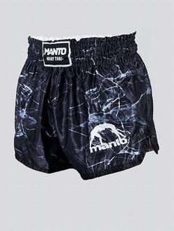 MANTO fightshorts MUAY THAI BLACK 1