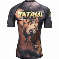 Tatami The Wrestlers Rash Guard2
