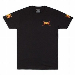 Trojan Warrior T-shirt charcoal1