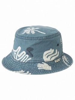 AH041933 BATIK BLOCK BUCKET HAT 1