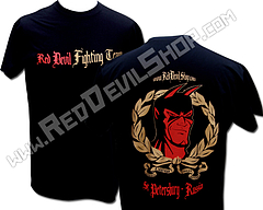 T-shirt red devil team