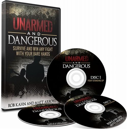 Dangerous and Unarmed Mockup DVD (1)