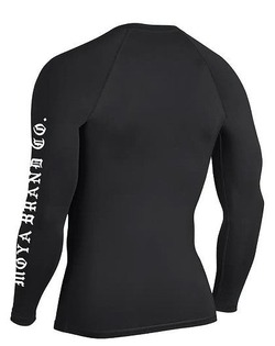 RECON RASHGUARD black 2