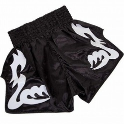 Bangkok Inferno Muay Thai Shorts blackwhite 3