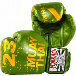 Urban Muay Thai Boxing Gloves Green 2