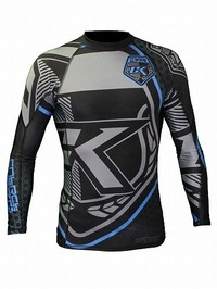 Rash Black & Blue LongSleeve 1