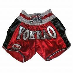YOKKAO Red Carbon Muay Thai Shorts 1