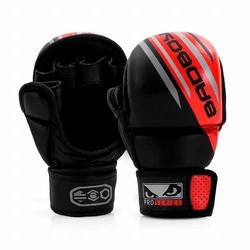 Pro Series Advanced MMA Safety Gloves blackred1