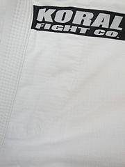 KORAL 柔術衣 ライト 白