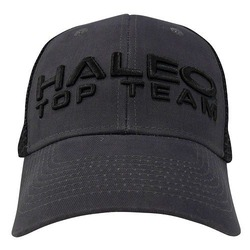 HALEO TOP TEAM MESH CAP charcoal_black1