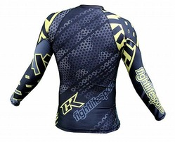 Droid yellow rashguard Long sleeve 3