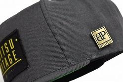 Jiu Jitsu Heritage Snapback Hat  Dark Gray 3