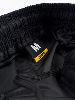 fight shorts EMBLEM black3