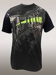 TAPOUT Tシャツ Silced up 黒