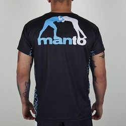 Tee performance tee VICTORY black blue2