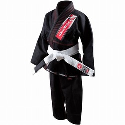 Yuushi Youth Jiu Jitsu Gi black 1a