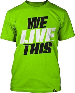 Tee We Live This Shirt Green1