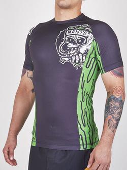 MANTO short sleeve rashguard ZOMBIE 1