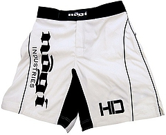 Shorts HD MMA White Front