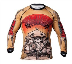 Samurai Panda Rash Guard 1