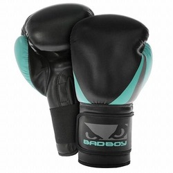 Training Series 20 Women Boxing Gloves blackgreen1