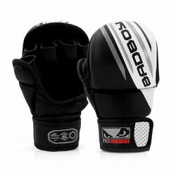 Pro Series Advanced MMA Safety Gloves blackwhite1
