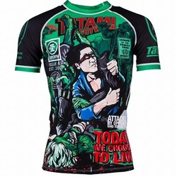 The Zombie Hunter Rash Guard 1