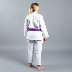 Standard Issue BJJ Gi Female Cut White2