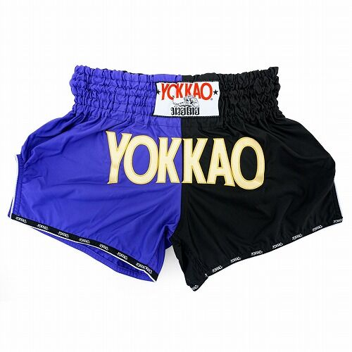 carbonfit-shorts-muay-thai-yokkao-double-impact-violet-black