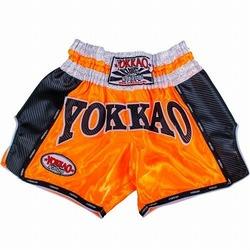 Orange Carbon Muay Thai Shorts1