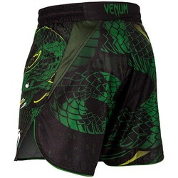 Green Viper Fightshorts BlackGreen 4