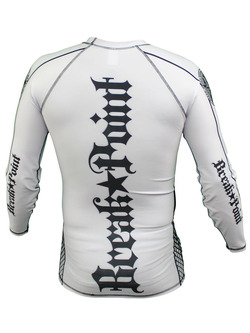 Elite Rash Guard White longsleeve 3