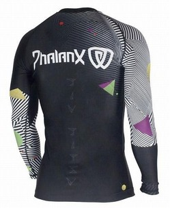 Rash Guard Phalanx Chaos black 2